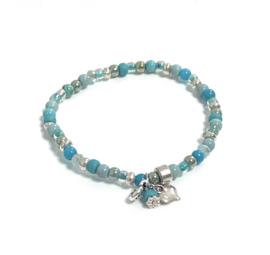 Turquoise 3mm armband