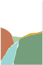 Set Landschappen | 4 kaarten