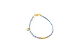 Goldie | Licht blauw