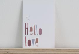 Typo Hello Love