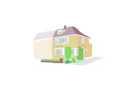 Verhuiskaart huis