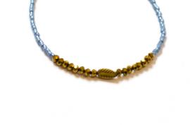 Golden Leaf | Lichtblauw