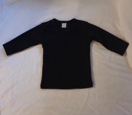 Basic shirt zwart
