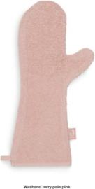 Washand badstof pink