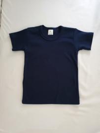 Basic donker blauw t-shirt
