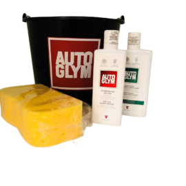 Autoglym Actie Pakket (Was emmer / Super Resin / Shampoo / Spons)