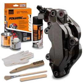 Foliatec Remklauwlakset - Carbon Zwart Metallic