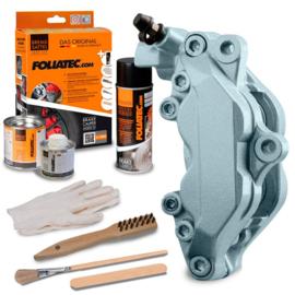 Foliatec Remklauwlakset - Zilver Metallic