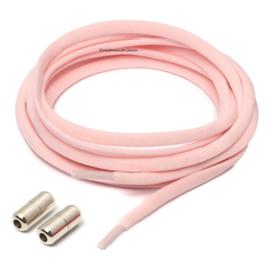 Elastische veters licht roze