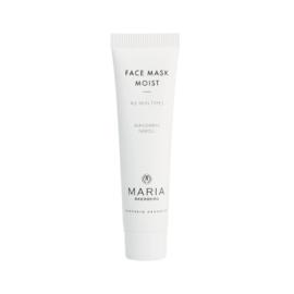 FACE MASK MOIST   met etherische oliën van Neroli en Mandarijn is een hydraterend gezichtsmasker voor alle huidtypen.