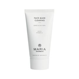 FACE MASK CLEARING   Diepreinigend masker voor alle huidtype. Zeer geschikt voor aanstippen puistjes, rijk aan vitamine C.