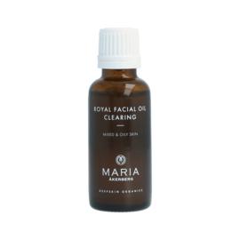 ROYAL FACIAL OIL CLEARING   Zuiverende olie op basis van Citroen, Bergamot, Lavendel en zure sinaasappel voor de vette en acne neigende huid (ook gevoelig)
