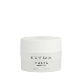 Night Balm | Zijdezacht gezichtsbalsem voor de nacht | Beschermt de huid tegen externe stressfacturen, gedurende de nacht ondersteunt het de natuurlijke vernieuwing van de huid | Rijk aan antioxidanten | Nieuw!