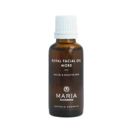 ROYAL FACIAL OIL MORE   Gladmakende olie met Retinol voor de rijpere en gevoelige huid op basis van Komkommerkruidolie, Jojoba olie en Rozenbottelolie.