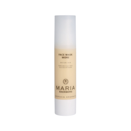 FACE MASK MORE   Hydraterend en gladmakend gezichtsmasker voor de rijpere huid. Dit anti-agingmasker is zeer rijk aan natuurlijke antioxidanten