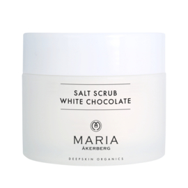 SALT SCRUB WHITE CHOCOLATE MARIA ÅKERBERG |  Een weelderige lichaamspeeling met de geur van witte chocolade.