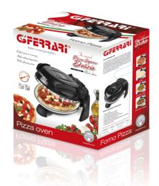 PIZZAOVEN G3FERRARI DELIZIA ZWART + Alu pizzaspatels