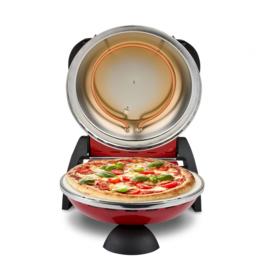 PIZZAOVEN G3FERRARI DELIZIA ROOD + Alu pizzaspatels