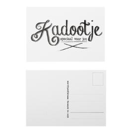 Ansichkaart Kadootje