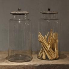Voorraadpot XL glas