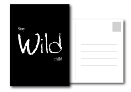 A6 Kaart | Stay wild child