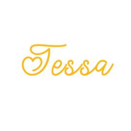 Naamsticker | Tessa