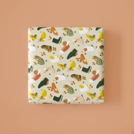 Cadeaupapier | Sint schoen (30x300 cm)
