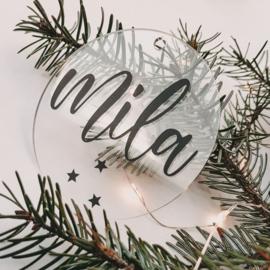 Kersthanger | Naam sterretjes