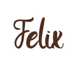 Naamsticker | Felix