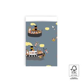 Cadeauzakjes | Sint pakjesboot 5 stuks (12x19 cm)