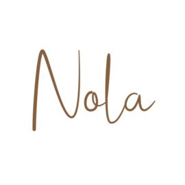 Naamsticker | Nola