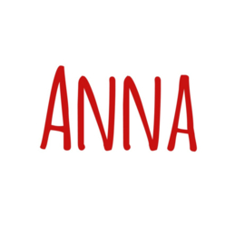 Naamsticker | Anna