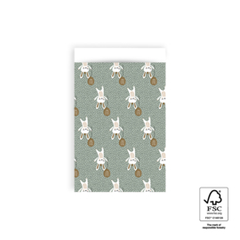 Cadeauzakje | Baby bunny - 5 stuks (12x19cm)