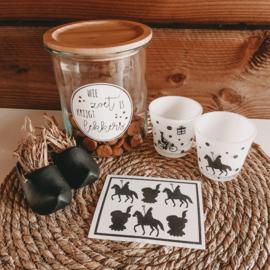 DIY stickers | Sint en piet