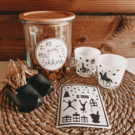 DIY stickers | Piet en sterren