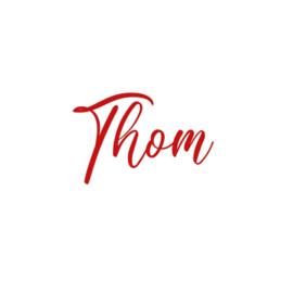 Naamsticker | Thom