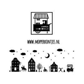 Herbruikbare raamstickers | Kar warme chocomelk