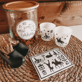 DIY stickers | Piet en stippen