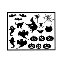 Herbruikbare raamstickers | Halloween