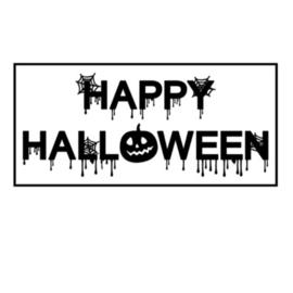 Herbruikbare raamstickers | Happy Halloween