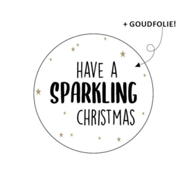 Sticker | Have a sparkling Christmas (10 stuks)