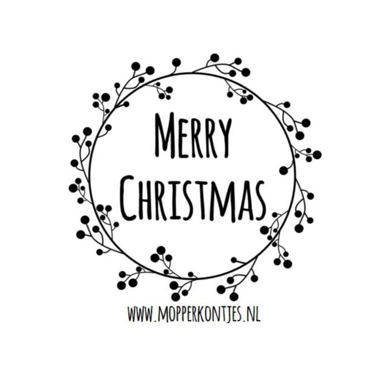 Eenmalige sticker | Merry Christmas