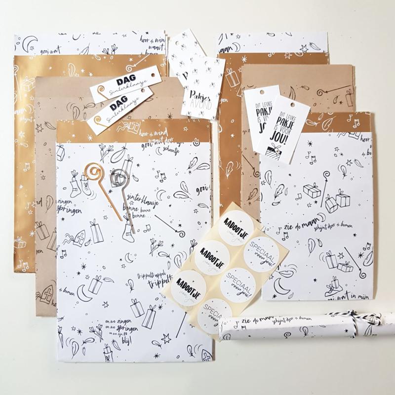 Inpakken Sint & Piet | Voordeelpakket M