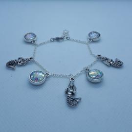 Bedelarmband zeemeermin (Elmadi bijoux)