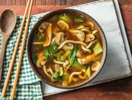 Thaise soep ( Verschillende Keuzes via Keuzelijst)