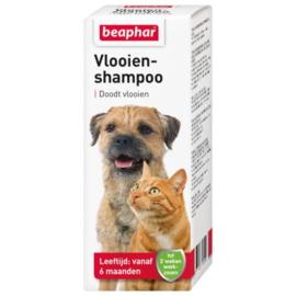 Beaphar Vlooienshampoo Hond/Kat - Anti vlooienmiddel - 100 ml