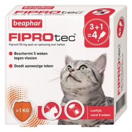 Beaphar Fiprotec kat 4 pipetten