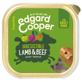 Edgard&Cooper Kuipje Lamb Beef Adult 150 g - Hondenvoer - Lam&Rund