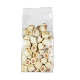 Mergpijpjes zalm 400 gram zakje