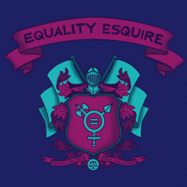 T-shirt Equality Esquire (Unisex)